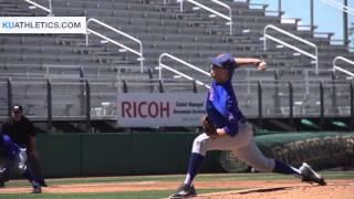 Jayhawks Fall Short at Baylor, 5-2 // KU Baseball // 4.3.16