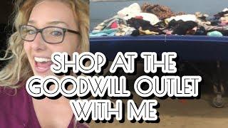 Goodwill Bins: Pass or Profit? Come Thrifting At The Goodwill Outlet With A Clothing Reseller