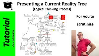 Presenting a Current Reality Tree, for you to scrutinize