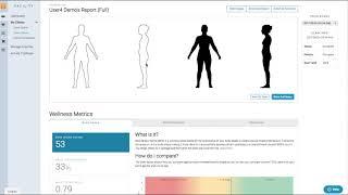 Fit3D User Dashboard – Cloud Reporting
