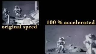 Moon Speed Analyzed