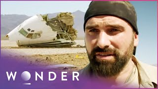 Engineers Build An Escape Vehicle From Plane Wreckage (Part 1) | Escape EP1
