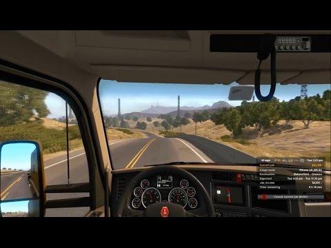 Gameplay de American Truck Simulator