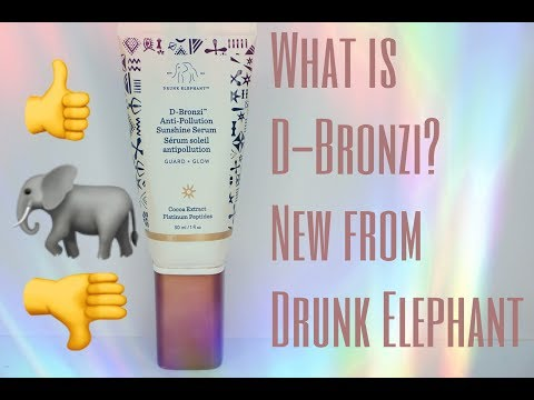 D-Bronzi Anti-Pollution Sunshine Drops by drunk elephant #5