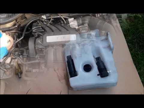 Przeróbka zbiornika pod spryskiwacze reflektorów Octavia 2 [TUTORIAL]
