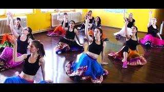 Ghagra with Germans - Bollywood Dance Workshop Germany - Bollywood-Arts