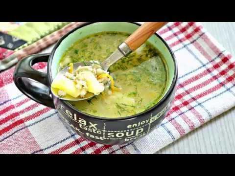 Куриный суп с овсяными хлопьями.РЕЦЕПТЫ СУПОВ.