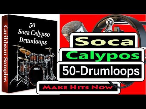 50 Soca Calypso Drumloops