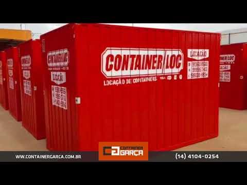 Container em Ariquemes Rondonia - 40 unidades
