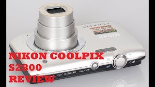 Nikon Coolpix S2800 Review - Is the best cam for youtubers?