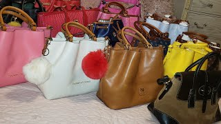 DOONEY AND BOURKE HANDBAG COLLECTION (HAUL OVER TIME)