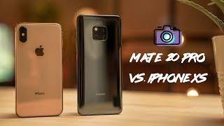 Huawei Mate 20 Pro vs Apple iPhone XS Camera Comparison!