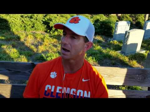 TigerNet.com - Dabo Swinney Oct 12
