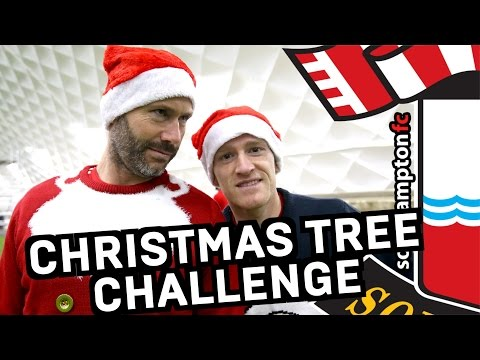 #SaintsXmas | DAY THREE: Christmas Tree Challenge with Kelvin & Steven