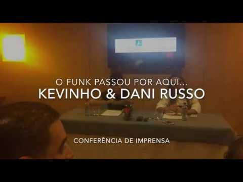 Kevinho e Dani Russo falaram à Imprensa