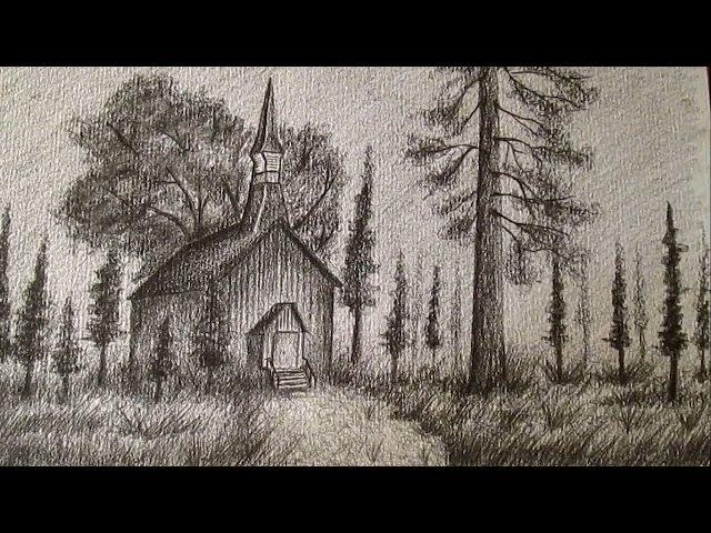Video Como Dibujar Un Paisaje Realista A Lapiz Como Dibujar Paisajes