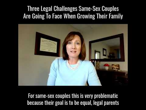 Same Sex Parenting Issues…