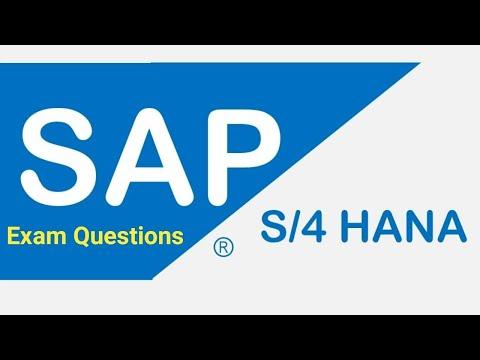 2. SAP S/4 Hana Fi Dumps Questions, Free SAP DUMPS 2 - YouTube