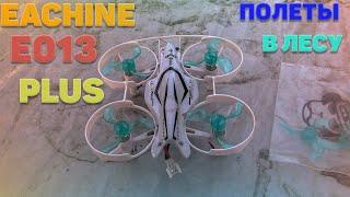 Eachine E013 Plus   Полеты в лесу по FPV