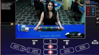 LIVE Baccarat Card Counting