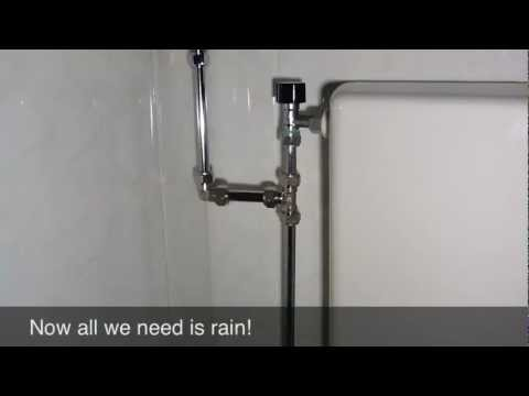 Diy Rainwater Fed Toilet Made Easy Permaculture Magazine