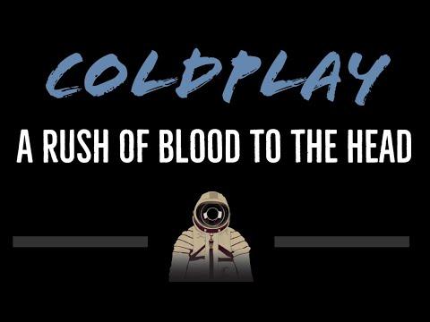 Coldplay • A Rush Of Blood To The Head (CC) [Karaoke Instrumental Lyrics]