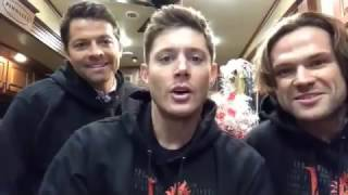 "Misha, Jensen And Jared Launch New ""SPN Family Love"" Shirt Campaign"