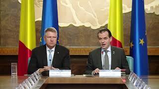 11/06/19: Declarații susținute de premierul Ludovic Orban la începutul ședinței de guvern