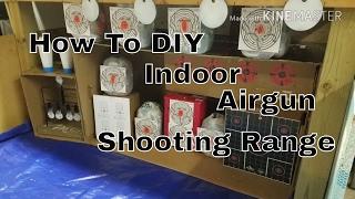 Indoor Airgun Shooting Range (How To DIY)