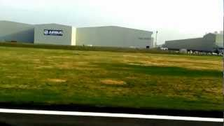 preview picture of video 'Monarch Airbus A321 Hawarden Airport Takeoff 02/03/12'