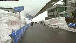 preview picture of video 'Giro d'Italia 2014 Ponte di Legno PASSO GAVIA part1'