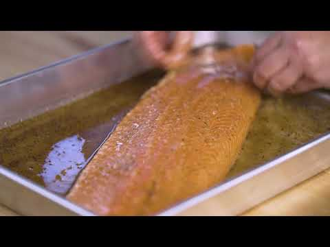 Vodka Brined Smoked Salmon with Amanda Haas Step 2