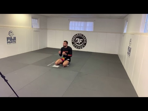 Craig Jones en sparring léger pendant 54 min