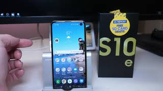 Samsung Galaxy S10e International Unlocked 128GB Storage 6GB Ram Unboxing + First Impressions