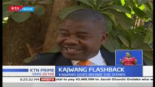 Kajwang gives behind the scenes details during the Raila 'swearing-in'