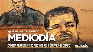 El abogado de El Chapo habla tras la sentencia | Noticias Telemundo