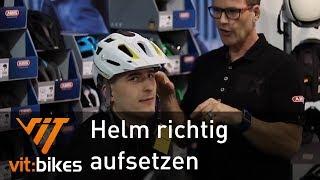 Wie setze ich meinen Helm richtig auf? - Teil 8 - vit:bikesTV 151