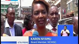 Nairobi water company visits Kayole, warn water cartels