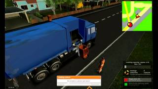 Garbage Truck Simulator 2011 gameplay (HD)