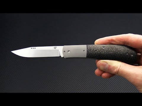 Trash Panda Knives Kit Satin AEB-L Carbon Fiber with