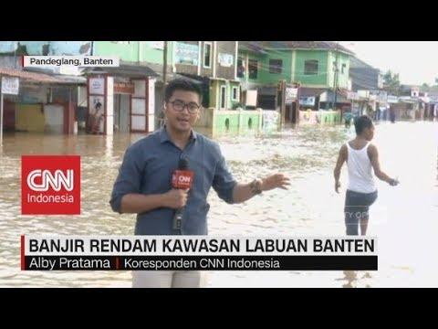 Pasca Tsunami, Banjir Rendam Kawasan Labuan Banten