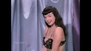 Bettie Page Dances To Black Betty