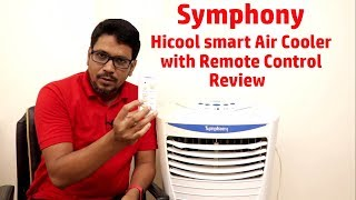 Hindi || Symphony Hi cool smart Air Cooler with Remote Control review