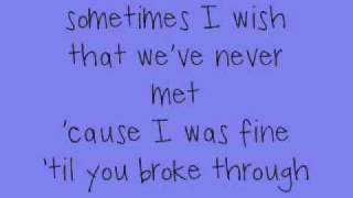 jordin sparks- papercut lyrics
