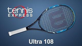 Ρακέτα τέννις Wilson Ultra 108 video