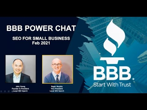 BBB Power Chat - SEO for Small Businesses