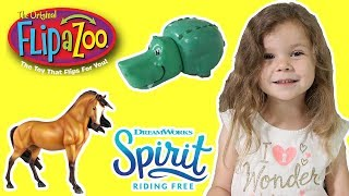 Spirit Riding Free & Flip a Zoo Blind Bags