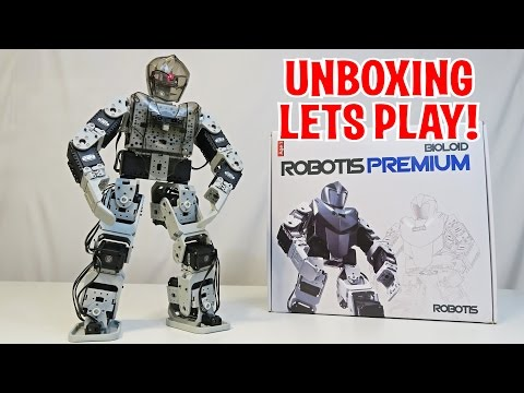 Unboxing & Let's Play – BIOLOID Premium by ROBOTIS – Humanoid Fighting Robot (FULL REVIEW)