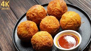 How to Make Mutton Bread Roll | Keema Bread Roll Recipe | Mutton Balls Reci