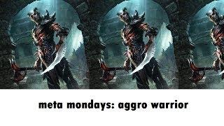 Meta Mondays: The Most Popular Aggro Deck - Catapult Warrior   Elder Scrolls Legends